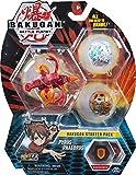 Bakugan スターターパック 3パック ピラス フェドラス コレクション用 アクションフィギュア 対象年齢6歳以上