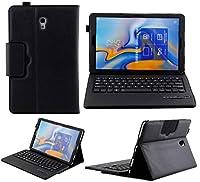 【LIHOULAI】Galaxy Tab A 10.5 専用キーボードカバー キーボード分離可能 スタンド機能付 US配列