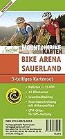 Set Bike Arena Sauerland: 3-teiliges Kartenset im Massstab 1:35 000 - 42 Biketouren - SauerlandRadring - Tourenbeschreibung mit Hoehenprofilen - UTM-Gitter fuer GPS-Nutzung