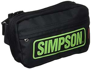 シンプソン(SIMPSON) ウエストバッグ BLACK/GREEN SB-312