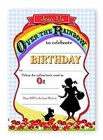 Wizard of Oz Invitations招待状–10+ 10封筒