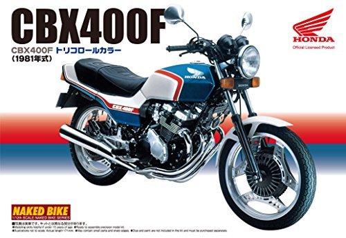 1/ 12BikeシリーズNo。28HONDA cbx400Fトリコロールプラスチックモデル