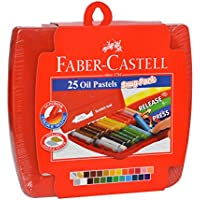 Faber-Castell 25 Oil Pastels - Snug Pack (Assorted)