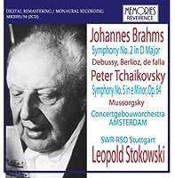 ベルリオーズ:ローマの謝肉祭序曲、ドビュッシー:牧神前奏曲、ファリャ:恋は魔術師(管弦楽版)、ブラームス:交響曲第2番(コンセルトヘボウ管、1951年7月オランダ音楽祭ライヴ)
