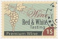 Wine Tastingスタンプ 16 x 24 Giclee Print LANT-49453-16x24