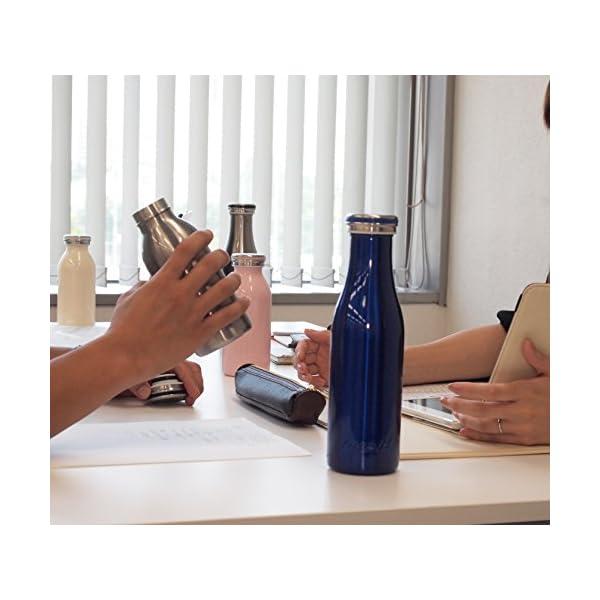 水筒 真空断熱 スクリュー式 マグ ボトル 0...の紹介画像5