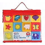 Ms.0 ソフト積み木 やわらかい 収納バッグ付き モンテッソーリ教具 知育玩具 おもちゃ 幼児 積み木 ブロック 赤ちゃん