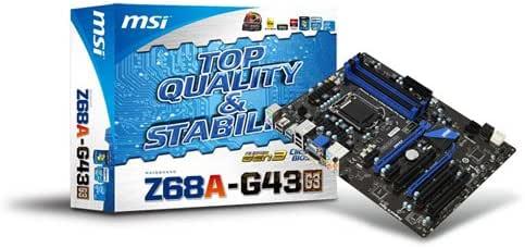 MSI LGA1155 Intel Z68チップ搭載 ATXマザーボード Z68A-G43(G3)