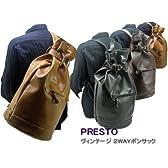 PRESTO(プレスト)国産品ヴィンテージ(2way)白化PU/ボンサックリュック【594】 3/color