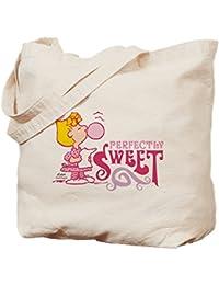 CafePress – Sally Brown – ナチュラルキャンバストートバッグ、布ショッピングバッグ S ベージュ 1487989061DECC2