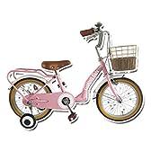 Lupinusルピナス 自転車 16インチ LP-16NKN-SP 子供自転車 キッズバイク 100%完成車 (ストロベリーピンク)