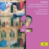 L'Estro Armonico Op 3 6 Flute Concertos Op 10