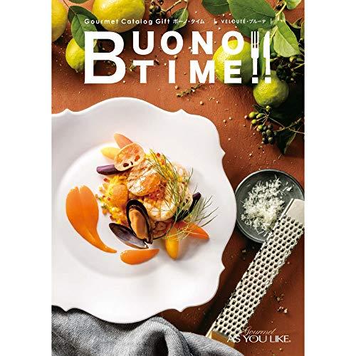 シャディ グルメカタログギフト BUONO TIME (ボーノ・タイム) 7,500円コース ブルーテ 包装紙:サラダ館「プチトマト」