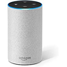 Introducing Amazon Echo (2nd generation), Sandstone Fabric
