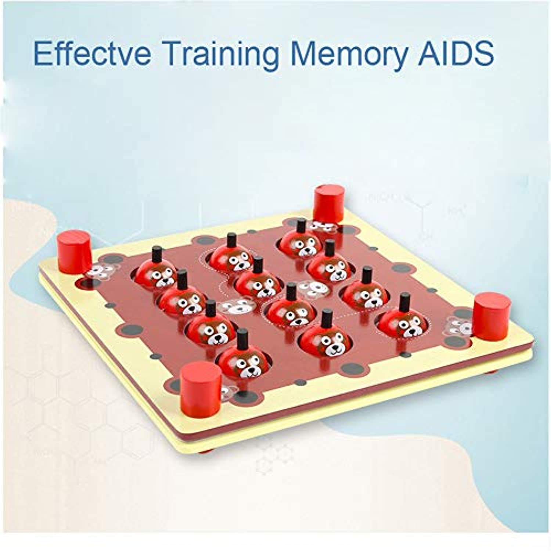Coerni ベビーおもちゃ 木製デスクトップゲーム メモリ教育玩具 子供用