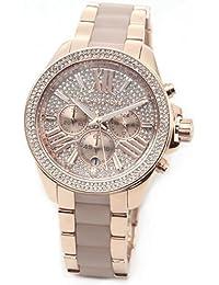(マイケルコース) MICHAEL KORS 煌びやかなパヴェストーンをまとったラグジュアリーな大きめサイズの。 レディス腕時計 #MK6096 並行輸入品