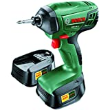 Bosch PDR 18 LI Cordless 18v Impact Drill with 2 x 1.5 Ah Lithium-ion Batteries and Charger