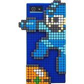 グルマンディーズ iPhone 5 専用 シリコン ロックマン 3Dドットジャケット(ロックマン) RKM-01A