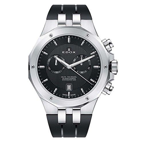 エドックス EDOX 腕時計 10110 3CA NIN デルフィン メンズ クロノグラフ [並行輸入品]
