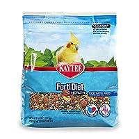 Kaytee Forti Diet Pro Health Food for Cockatiel, 5-Pound by Kaytee