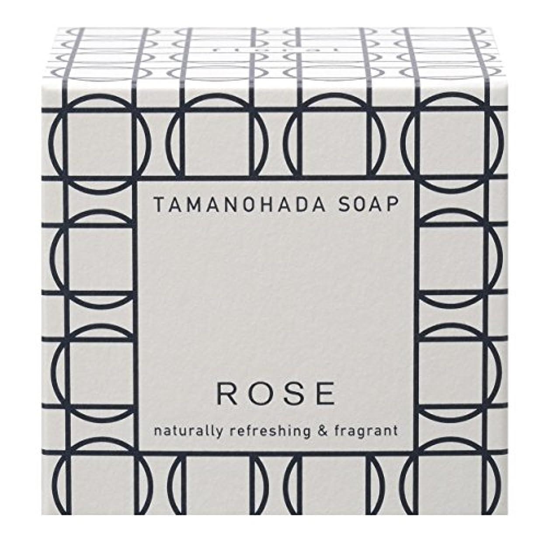 適切にゆりかご刺激するタマノハダ ソープ 003 ローズ 125g