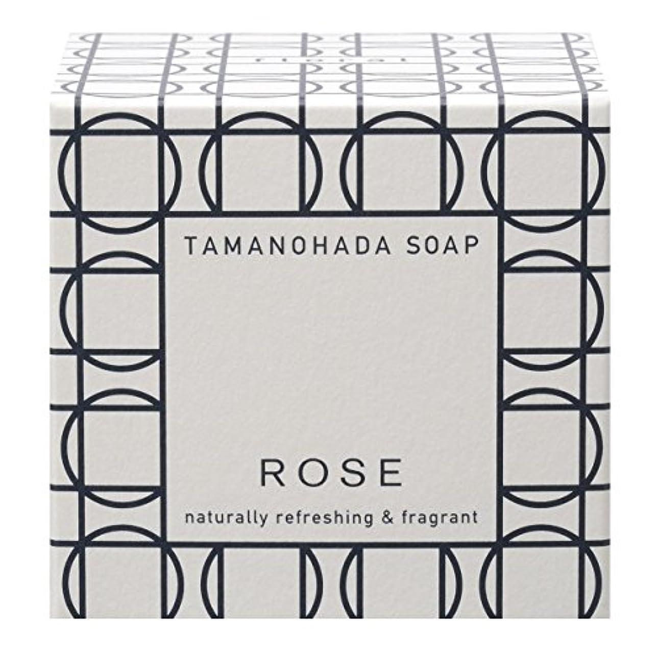 お風呂にもかかわらずリースタマノハダ ソープ 003 ローズ 125g