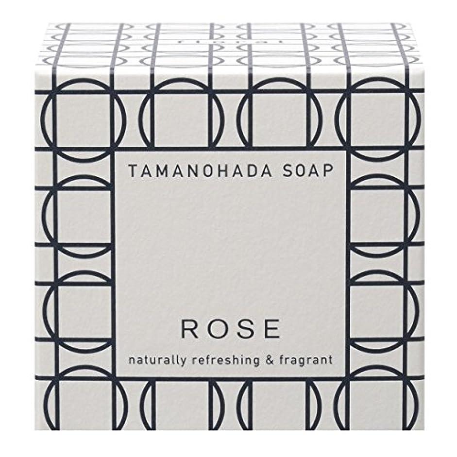 性的揺れる雑多なタマノハダ ソープ 003 ローズ 125g