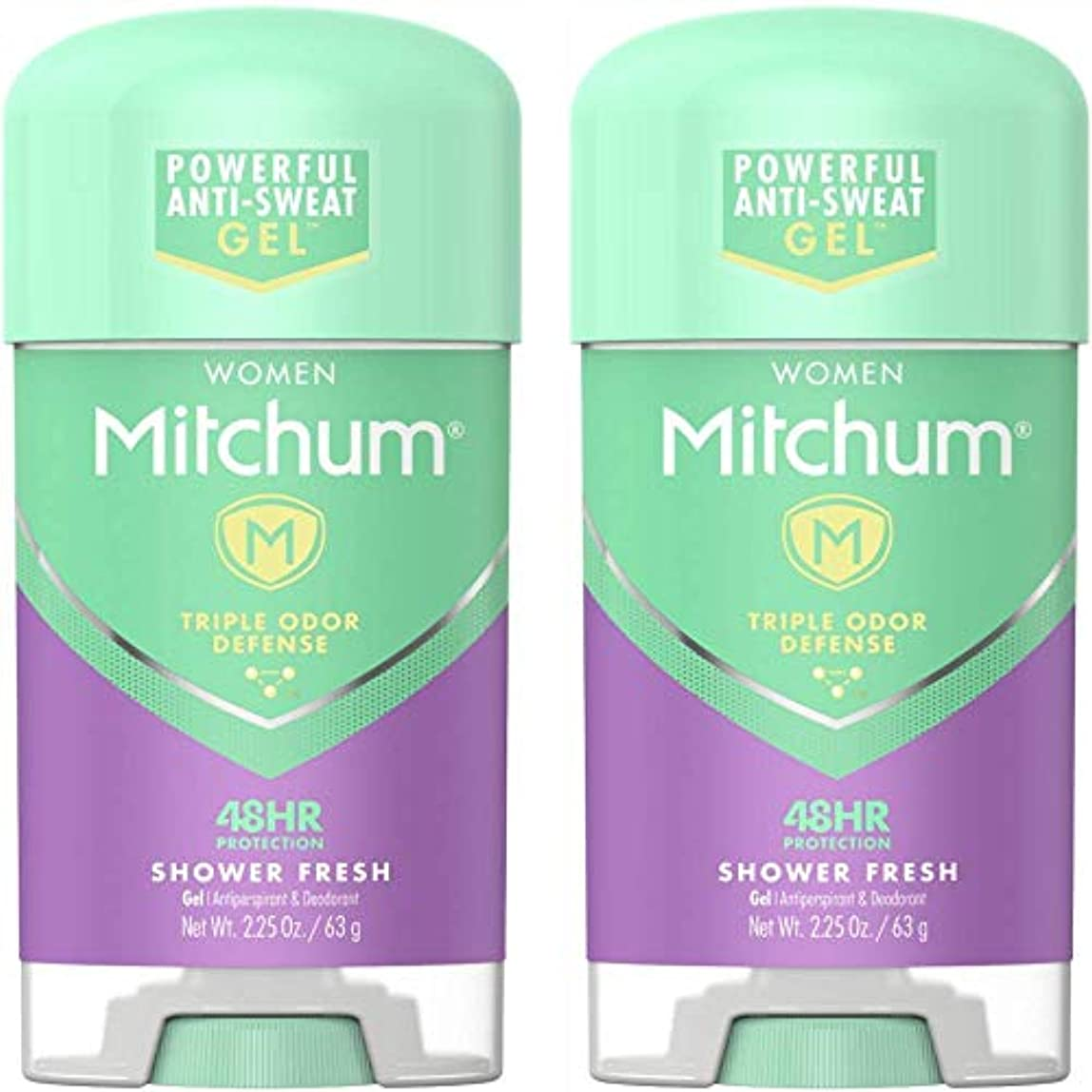 アイデア請求書分離Mitchum Power Gel Shower Fresh