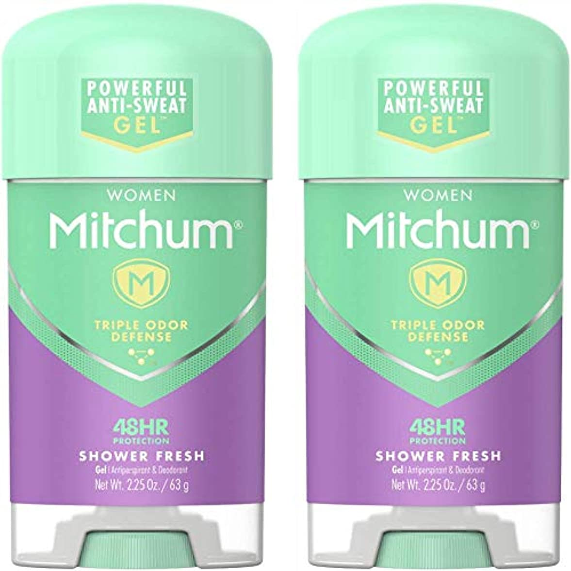 超えて損失含めるMitchum Power Gel Shower Fresh