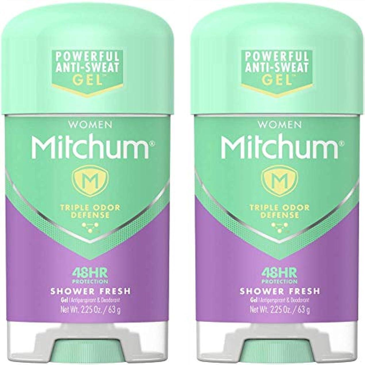 硬さ面白いを除くMitchum Power Gel Shower Fresh