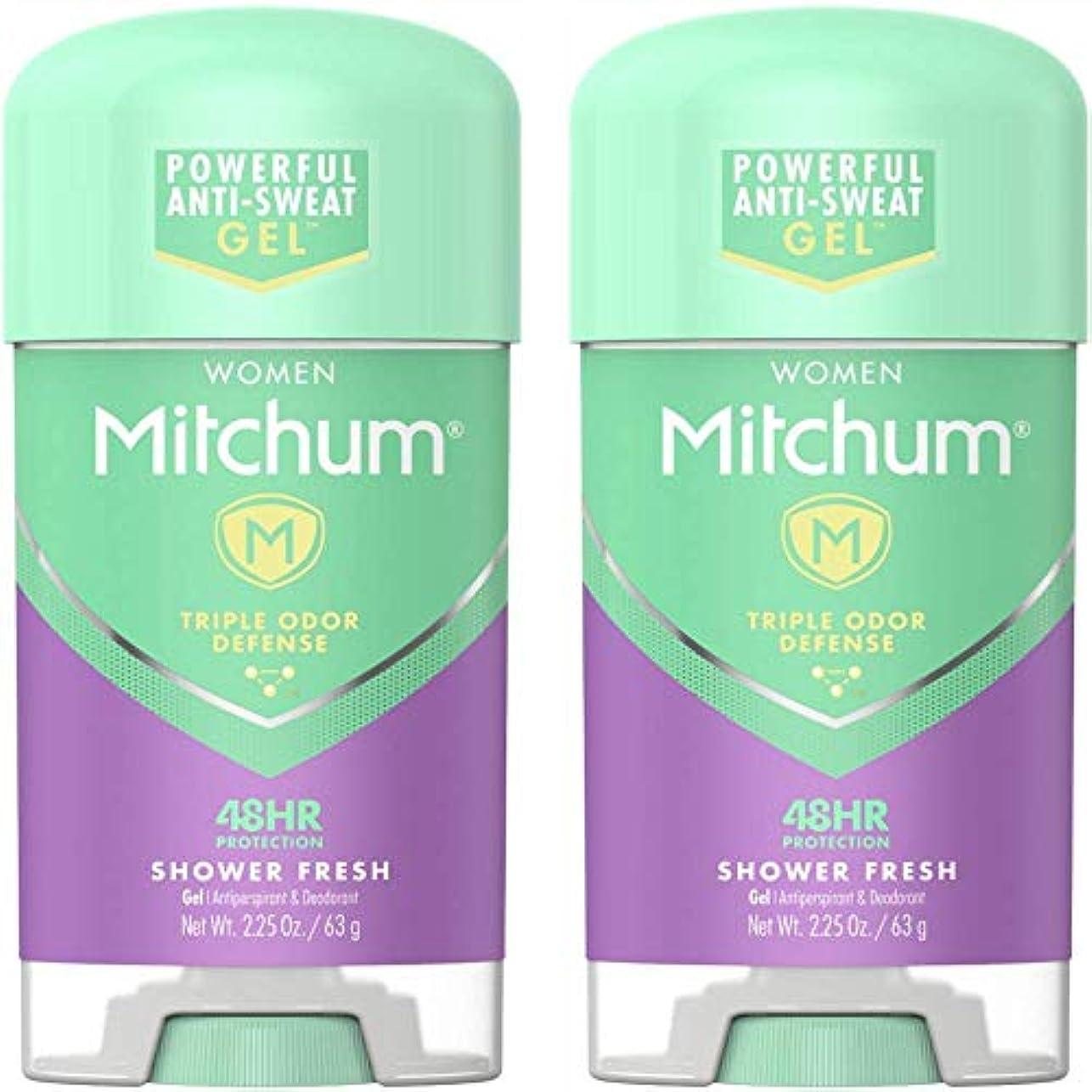 大使館器具アレルギー性Mitchum Power Gel Shower Fresh