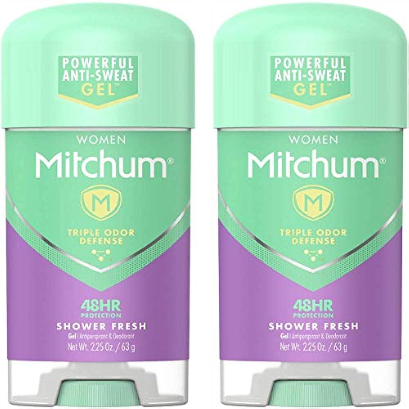 トレーダー急流普及Mitchum Power Gel Shower Fresh