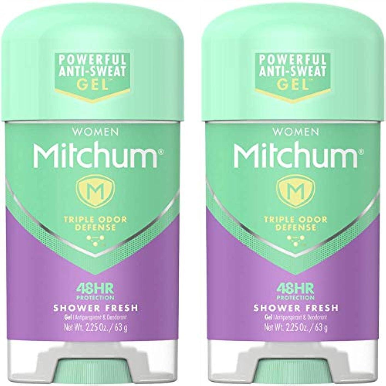 上回る鎮痛剤スクラップブックMitchum Power Gel Shower Fresh
