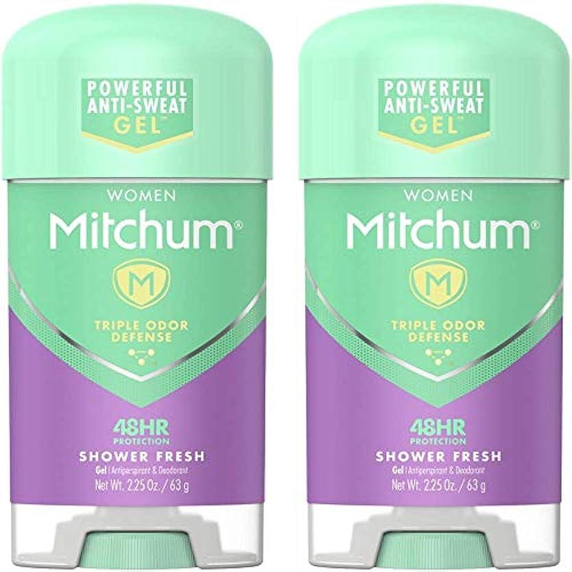 垂直勝つ平等Mitchum Power Gel Shower Fresh