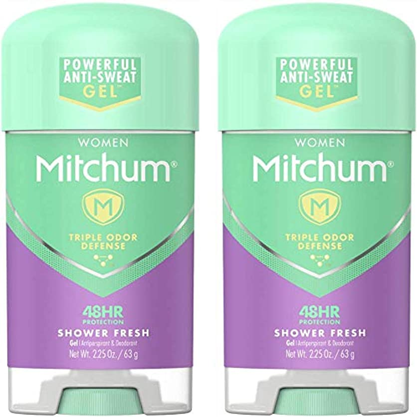 休憩する年金テザーMitchum Power Gel Shower Fresh