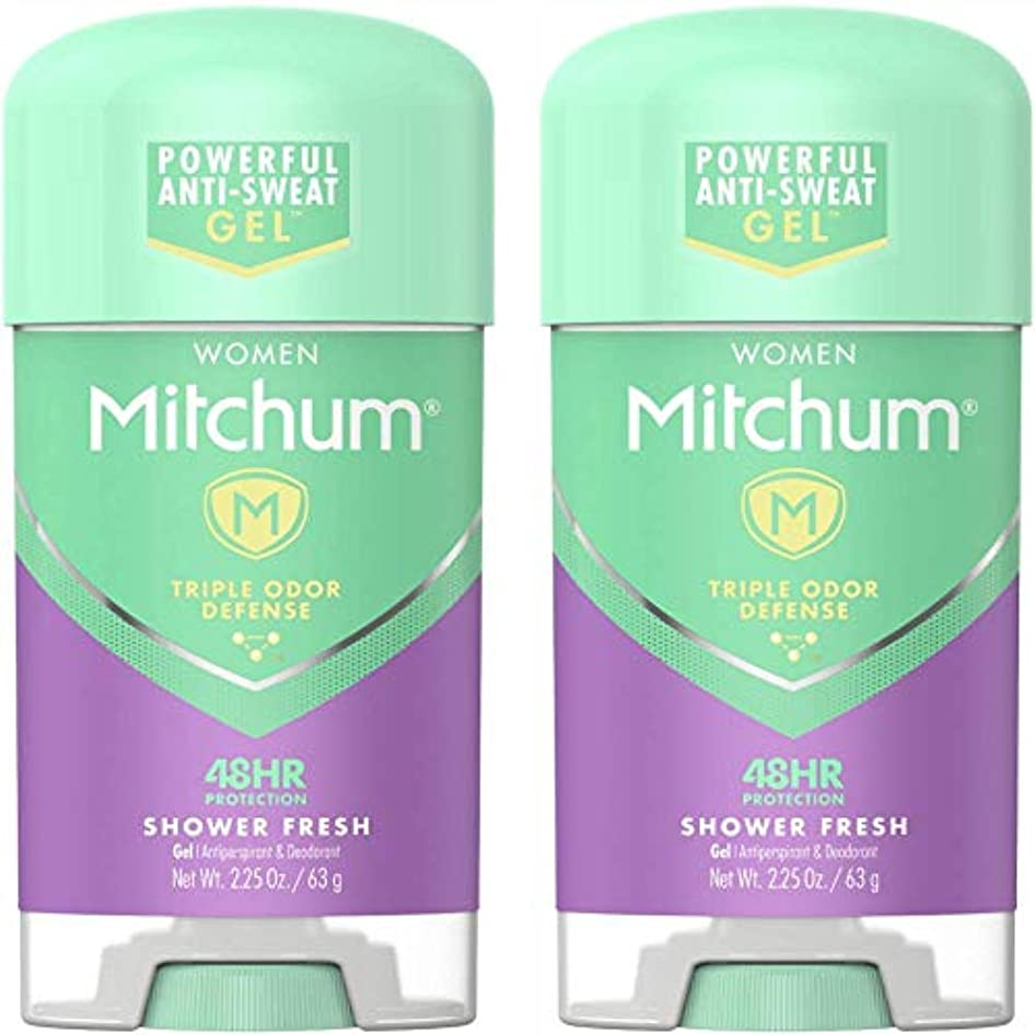 打倒恵み重要Mitchum Power Gel Shower Fresh