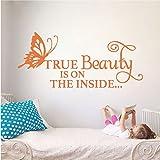 True Beauty 壁デカール 27