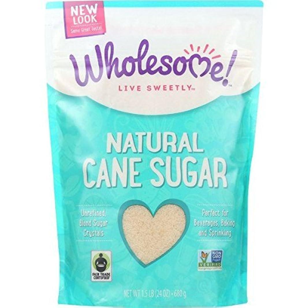 修正さらに薬Wholesome Sweeteners Fair Trade Natural Cane Sugar 1.5 lb [並行輸入品]