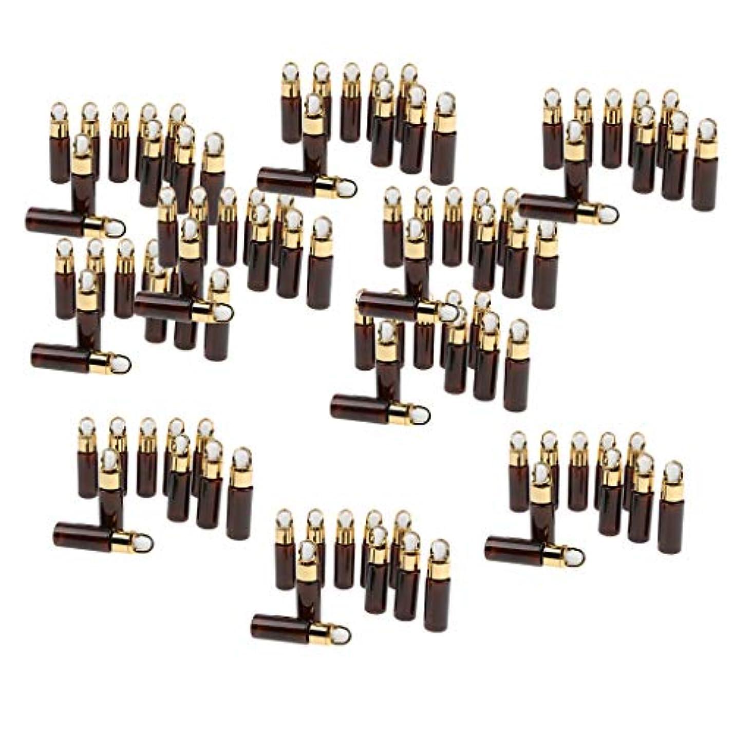 チェスをするキャプチャー底P Prettyia ドロッパーボトル アロマセラピー エッセンシャルオイル 20ml アンバー 約100ピースセット