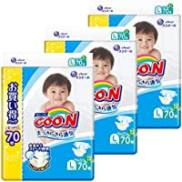 グーン テープ L (9~14kg) 210枚(70枚×3) まっさらさら通気 【ケース販売】