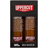 Uppercut Deluxe Shampoo and Conditioner Duo Set - Gently Cleanses & Moisturizes