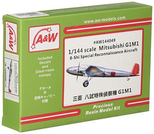 A&Wモデル 1/144 三菱 八試特殊偵察機 G1M1 レジンキット AW144049