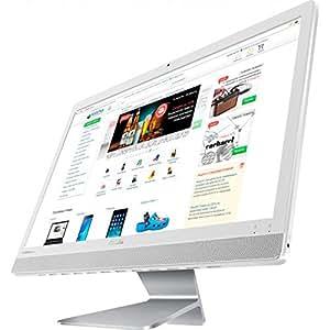 ASUS Vivo AiO V221IDUK-J3355WHT 液晶一体型 デスクトップ Windows10 21.5インチ フルHD Celeron J3355 メモリ 4GB HDD 500GB 無線LAN Webカメラ
