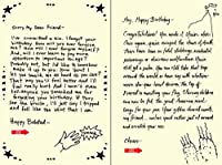 Quiplip Handwritten Yours Truly Birthday Cards 6-Pack (YT07086PCK) [並行輸入品]