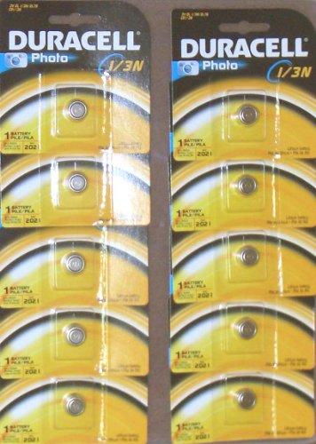 HOLGA Duracell CR1/3Nリチウム電池【10個パック】