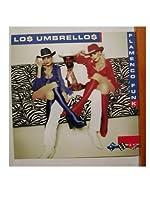 Los Umbrellosポスターフラット