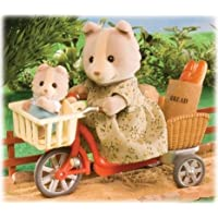 Sylvanian Families Cycling with Mother ドール 人形 フィギュア(並行輸入)
