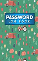 Password Log Book: Internet Address Password Logbook, Password Keepers, Passcode Notebook, Password Username Book, Cute Farm Animals Cover (Password Log Books)