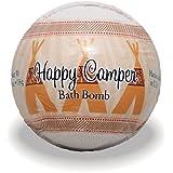 プライモールエレメンツ バスボム/ハッピーキャンパー 136g シアバターとココナツ&アルガンオイル配合のお肌に潤いを与える発泡性入浴剤