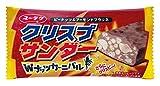 有楽製菓 クリスプサンダーWナッツカーニバル 1本×20本